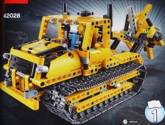 lego technic bulldozer 42028 instructions