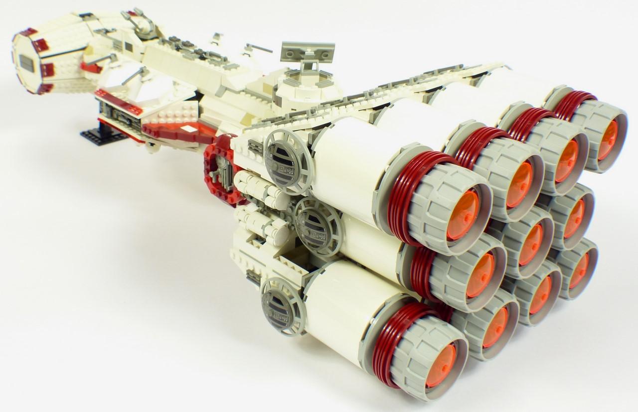 Review lego star wars 10019 rebel blockade - Croiseur star wars lego ...
