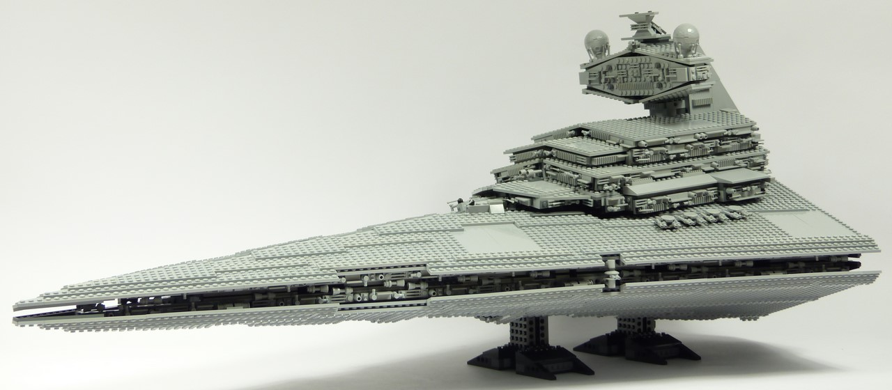 Review lego star wars 10030 imperial star - Lego croiseur imperial ...