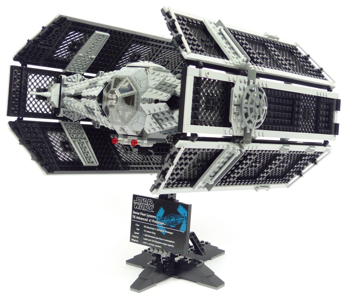 Review lego star wars 10175 tie advanced x1 - Vaisseau dark vador ...