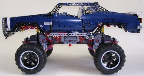 review lego technic 41999 tout terrain. Black Bedroom Furniture Sets. Home Design Ideas