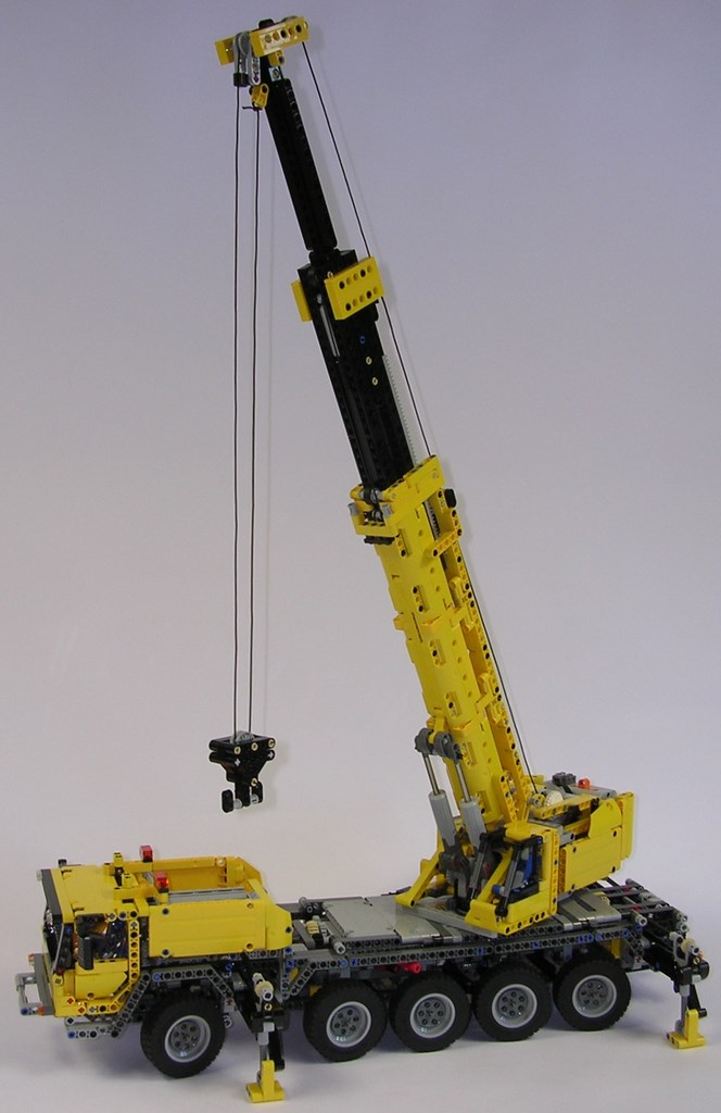 Techlug Review Lego Technic 42009 Grue Mobile