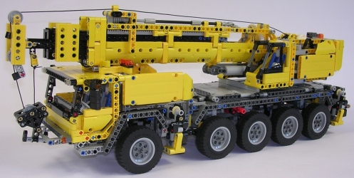 camion grue lego technic 42009 tracteur agricole. Black Bedroom Furniture Sets. Home Design Ideas