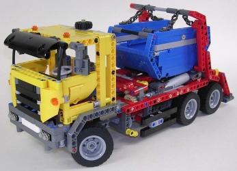 review lego technic 42024 camion multibenne. Black Bedroom Furniture Sets. Home Design Ideas
