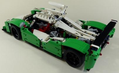 review lego technic 42039 voiture de course lmp1. Black Bedroom Furniture Sets. Home Design Ideas