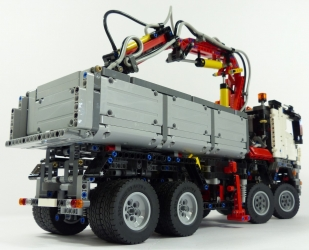 camion grue lego technic. Black Bedroom Furniture Sets. Home Design Ideas