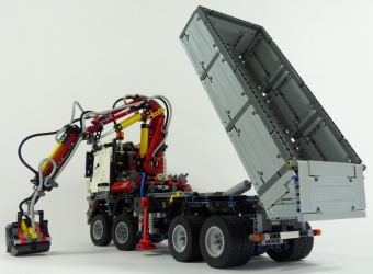 lego technic camion mercedes tracteur agricole. Black Bedroom Furniture Sets. Home Design Ideas