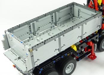 Techlug Fr Review Lego Technic 42043 Camion Mercedes Benz Arocs 3245