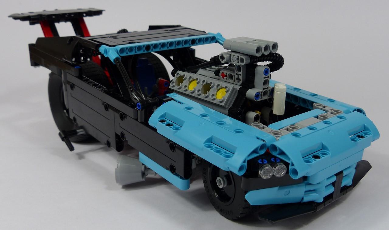 review lego technic 42050 dragster. Black Bedroom Furniture Sets. Home Design Ideas