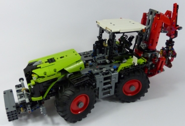 Lego Technic 42054 Tracteur Claas Xerion 5000 Trac VC