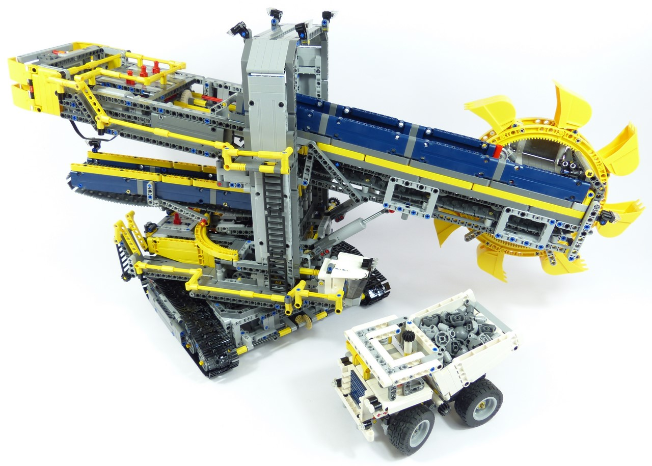 42055 bucket wheel excavator page 43 lego technic. Black Bedroom Furniture Sets. Home Design Ideas