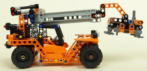 Lego Technic #42062 Transport de conteneurs