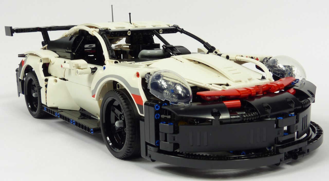 review lego technic 42096 porsche 911 rsr. Black Bedroom Furniture Sets. Home Design Ideas
