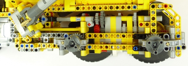 Lego Technic 42114 Tombereau articule Volvo A60H