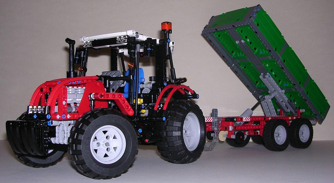 tracteur avec remorque 8063
