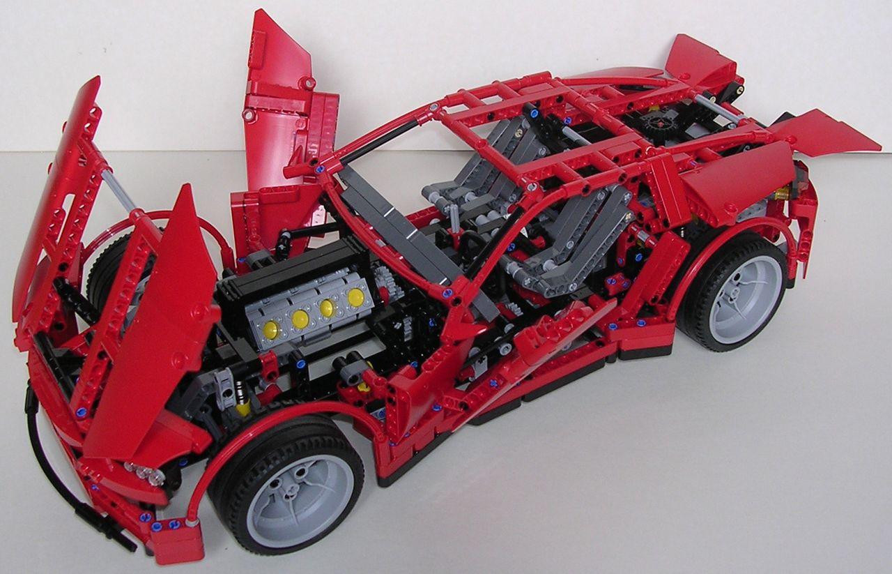 lego technic supercar 8070 the image. Black Bedroom Furniture Sets. Home Design Ideas
