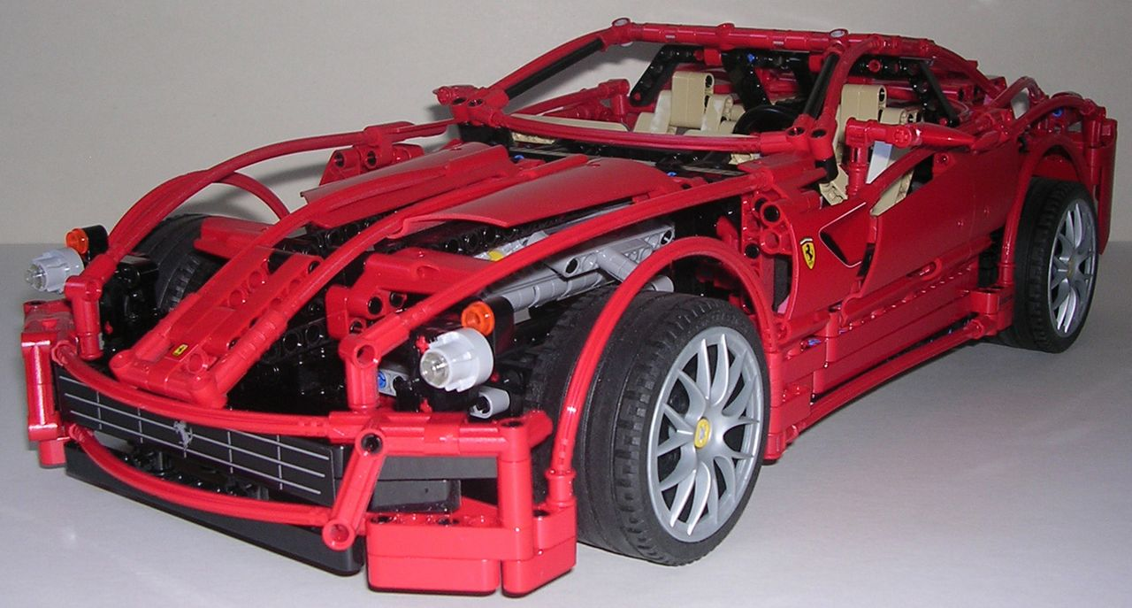 review lego technic 8145 ferrari 599 gtb fiorano. Black Bedroom Furniture Sets. Home Design Ideas