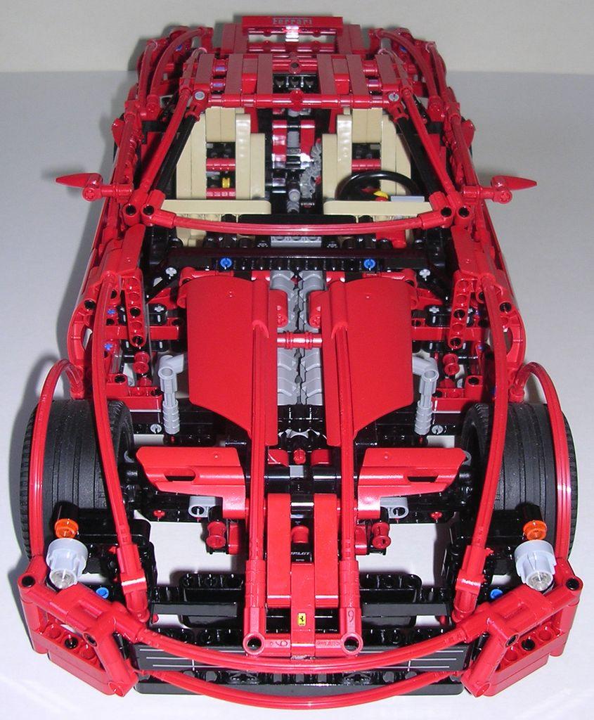 Techlug Fr Review Lego Technic 8145 Ferrari 599 Gtb Fiorano