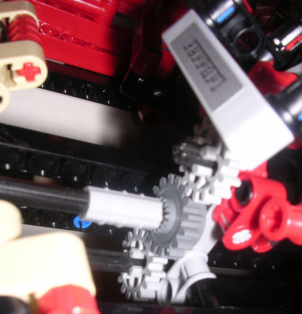 Review Lego Technic #8145 Ferrari 599 GTB Fiorano