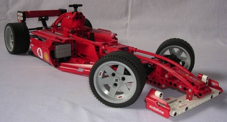 review lego technic 8386 formule 1 ferrari. Black Bedroom Furniture Sets. Home Design Ideas