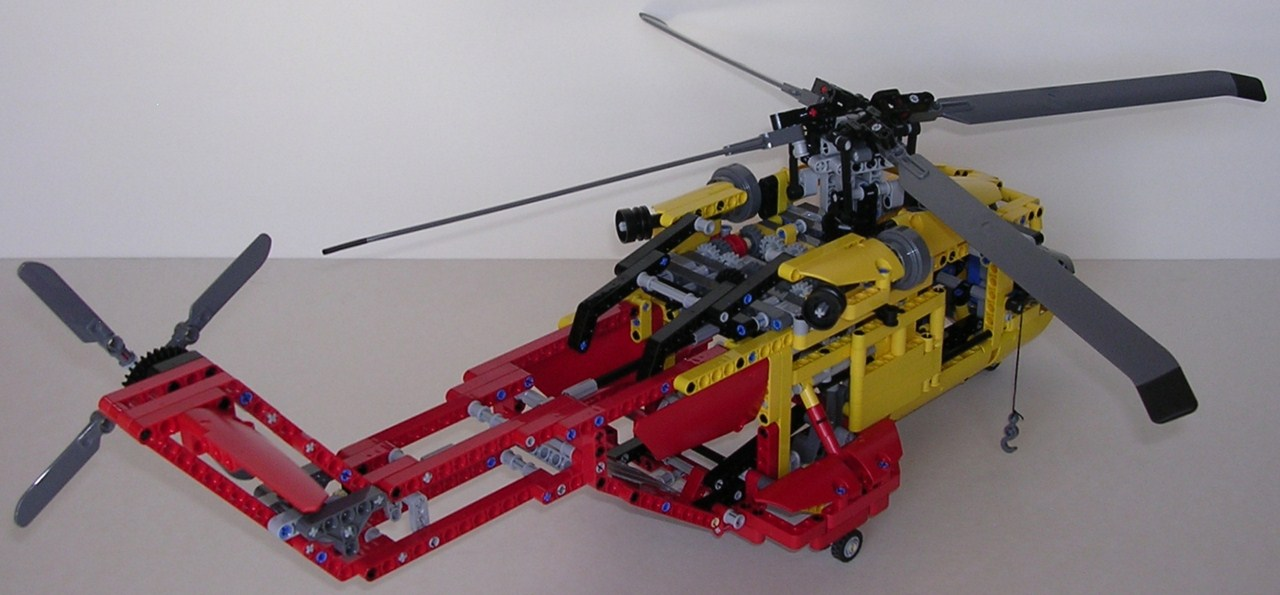 Elicottero Lego Technic : Lego technic elicottero review