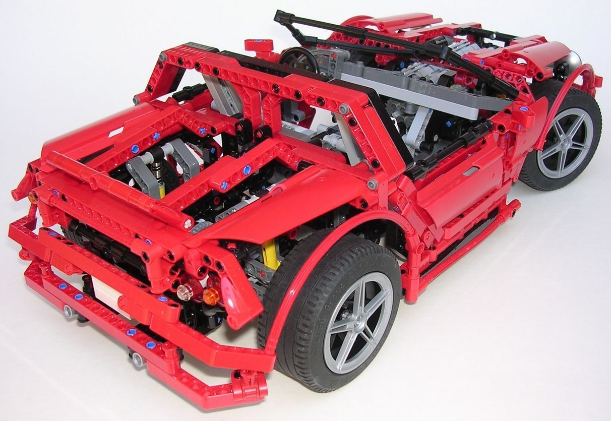 review lego technic nk01 concept car. Black Bedroom Furniture Sets. Home Design Ideas