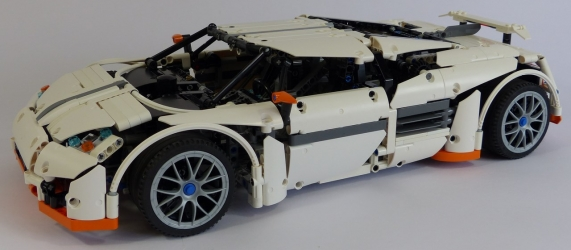 review lego technic nk03 predator. Black Bedroom Furniture Sets. Home Design Ideas