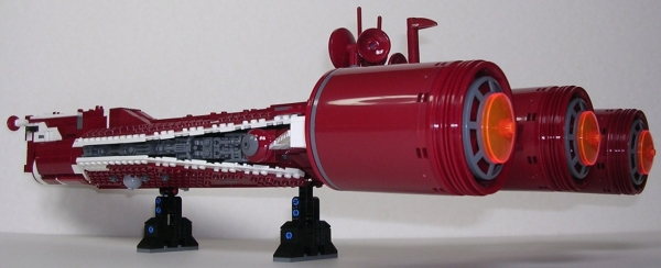 Lego Star Wars UCS ST10 Consular-Class Radiant VII