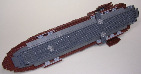 Lego Star Wars UCS ST15 Sail Barge