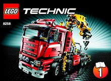 liste des instructions lego technic. Black Bedroom Furniture Sets. Home Design Ideas