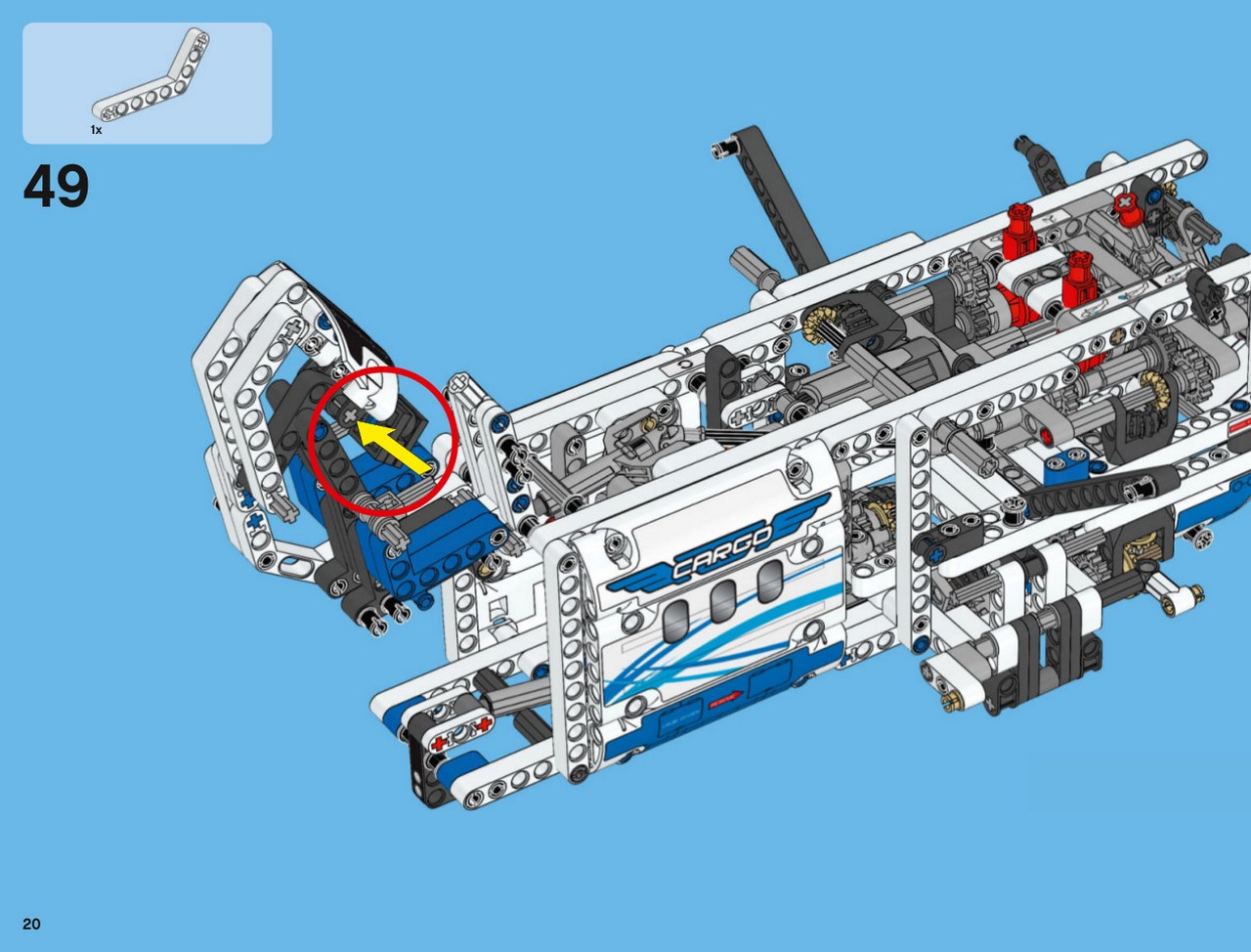 lego technic 42025 instructions