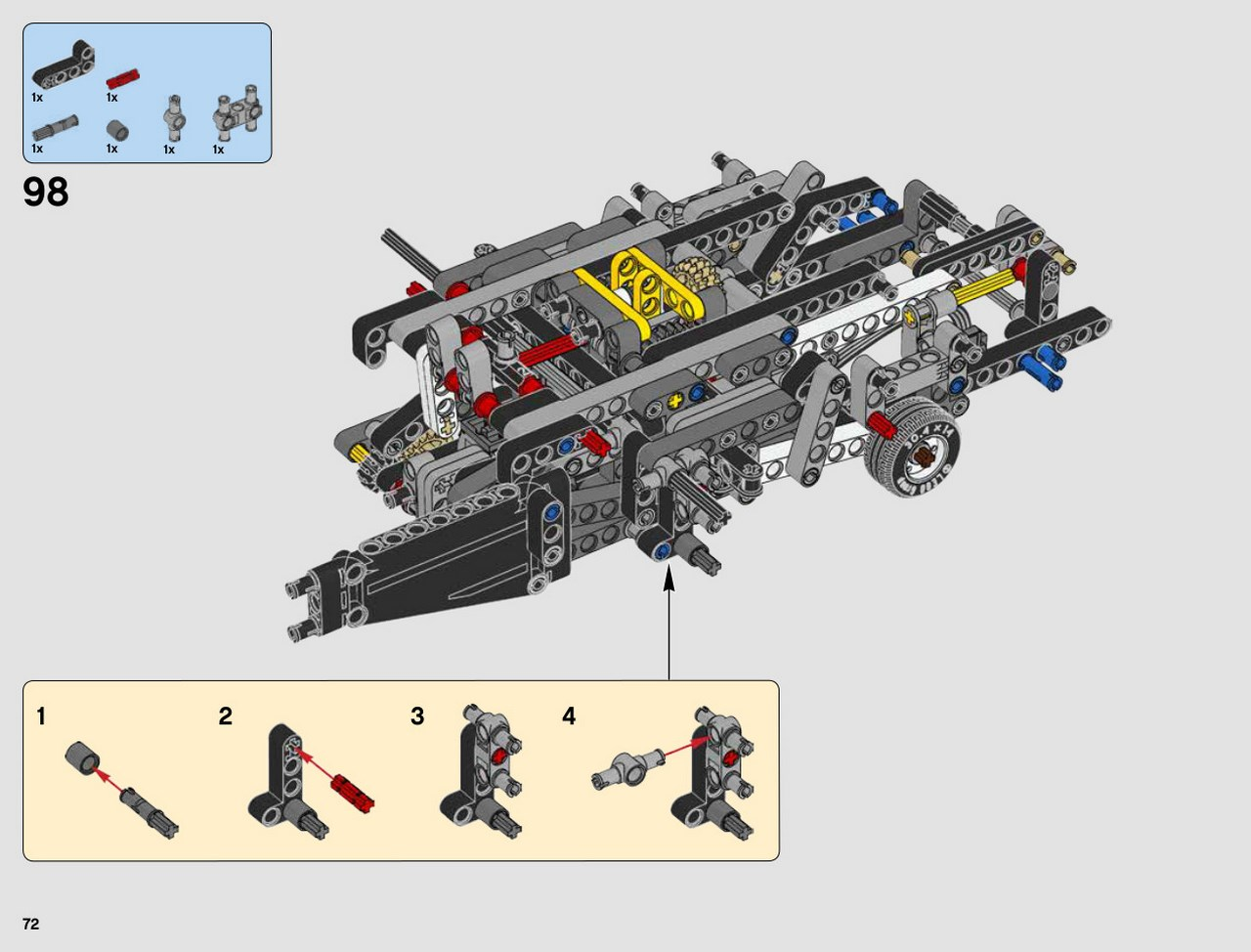 Le lug lego technic et lego star wars francophone - Avion de chasse en lego ...