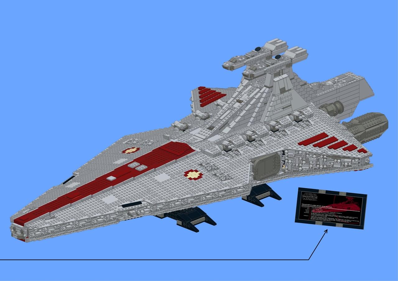 Venator Class Republic Attack Cruiser Page 7 Lego Star Wars